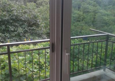 PRIVATO - Trieste - VERANDINA CON TETTO ISOCOPPO