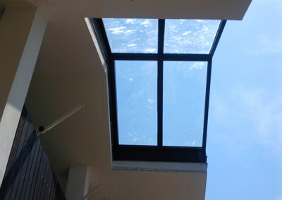 PRIVATO - TS - VERANDINA alluminio taglio termico tetto vetrato