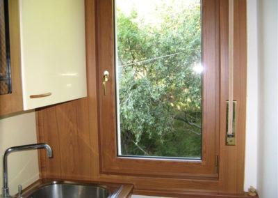 Trieste serramenti alluminio taglio termico effetto legno