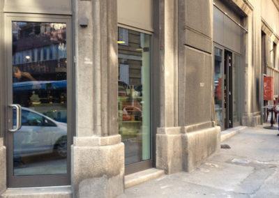 Negozio a Trieste, vetrine