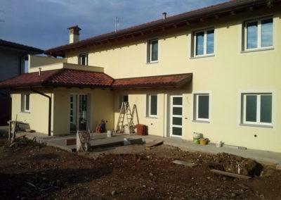 serramenti alluminio taglio termico e scuri doghe Udine per abitazione privata